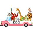 Zoo vector image vector image