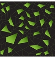 Green mosaic grid vector image