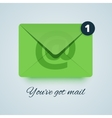 Youve got mail vector image
