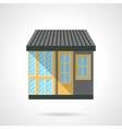 Appliance store facade flat design icon vector image