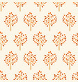 autumn tree seamless pattern tree vector image vector image