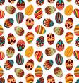 Easter Egg Pattern vector image vector image