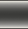 geometric halftone diagonal lines seamless vector image vector image
