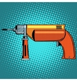 Hammer drill power tools vector image vector image