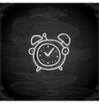 Hand Drawn Alarm Clock vector image