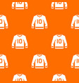 hockey jersey pattern seamless vector image vector image