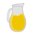 isolated juice jar icon vector image
