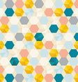 Retro cells pattern background vector image