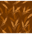 wheat seamless vector image