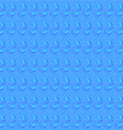 Blue curls for tile vector image