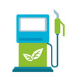 eco fuel dispenser vector image