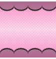 Lace pattern background vector image vector image