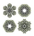Set of arabesque ornament for your design vector image vector image