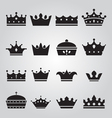 Set of crowns icons vector | Price: 1 Credit (USD $1)