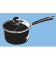 stove pot vector image vector image