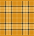 yellow and black tartan plaid seamless pattern vector image vector image