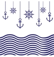 Nautical Template vector image