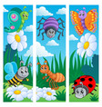bugs banners collection 2 vector image