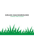 grass background design template vector image