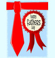 happy fathers day rosette vector image vector image