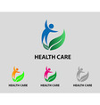 Health care icon vector image vector image