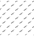 Kalashnikov machine pattern simple style vector image vector image