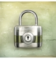 Lock old-style vector image vector image