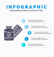 medicine pill capsule drugs tablet infographics vector image