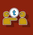 Sticker unusual look tumblr social media icons