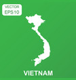 vietnam map icon business concept vietnam vector image vector image