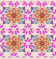watercolor seamless pattern for textile hand vector image