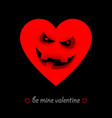 a humorous valentines day card or flyer vector image