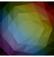 Abstract 3d geometric background Abs 14 vector image vector image