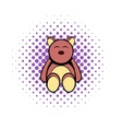 Baby bear comics icon vector image vector image