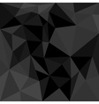 Dark flat triangle background or seamless pattern vector image vector image