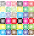 flash background effect vector image