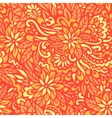 golden autumn seamless decorative pattern vector image vector image