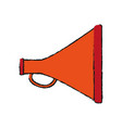 megaphone or bullhorn icon image vector image vector image