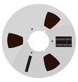 of a tape bobbin vector image