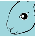 Rabbit animal cartoon vector image vector image