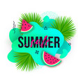 summer sale trendy banners modern backgrounds vector image vector image