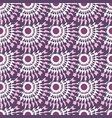 vintage seamless pattern pink abstract background vector image vector image