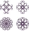 Vintage symbols vector image vector image