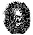 Web Vampire vector image