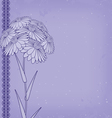 flow blue left vector image