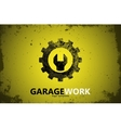 Auto repair Garage work logo Auto service vector image