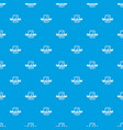 artwork pattern seamless blue vector image vector image