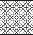 background with seamless pattern in islamic style vector image vector image