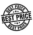 best price round grunge black stamp vector image vector image