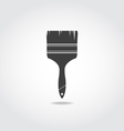 Brush Black Icon vector image vector image